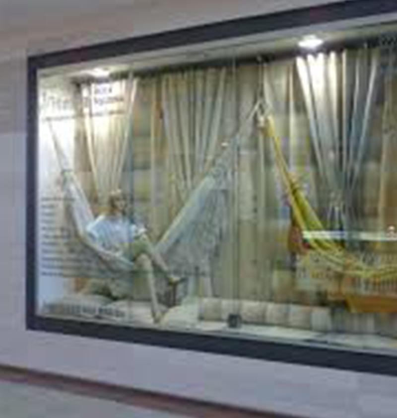 Vitrines de Vidro de Lojas